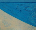 chris billington cornwall abstract artist Marazion - 20 in x 24 in oilalkyd on ply panel