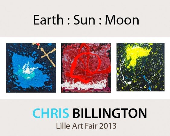 'Earth Sun Moon - Homage To Neil Armstrong' ~ Lille Contemporary Art 2013 ~ Chris Billington