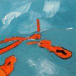 Geevor (2009) - 76cm x 76cm - acrylic on canvas - Modern Art by British Artist Chris Billington
