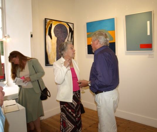 Mines and Monuments Exhibition, Spring Gallery, Falmouth, August 2009