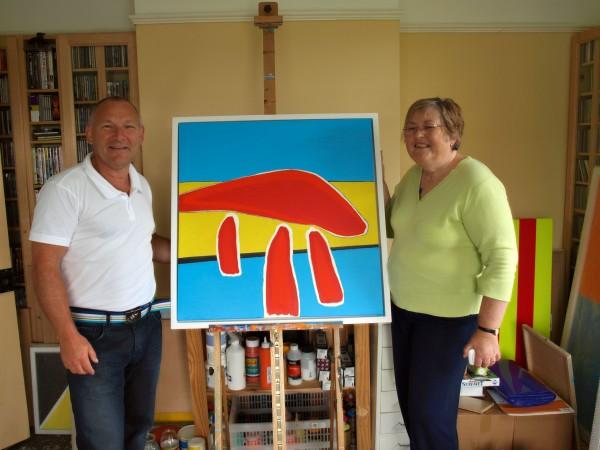 Chris Billington & Angela Coote - Marie Curie Auction Donation