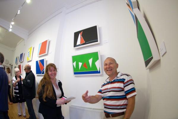 chris billington - falmouth working boats private view