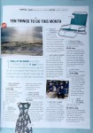 Coast Magazine - 10 things to fo this month - Chris Billington