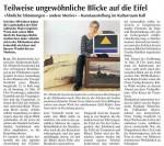 Chris Billington - Eifel Ausstellung Wochenspiegel