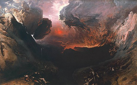 John Martin - The Great Day of His Wrath - 1851-3