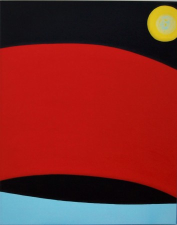 Hell's Mouth (2009) - 80cm x 100cm - acrylic on canvas