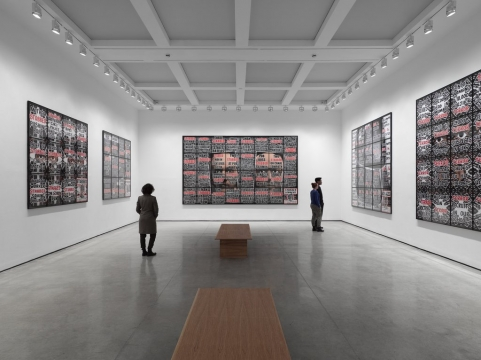 Gilbert & George - London Pictures - White Cube Hoxton Square