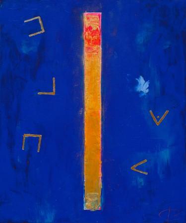 An Almighty Shift In Consciousness- ~ 50cm x 60cm ~acrylic on canvas ~ Chris Billington