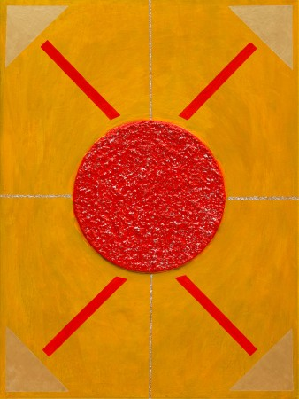 Regent of the Sun ~ 60cm x 80cm ~ mixed media on canvas ~ Chris Billington