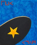 Singing To A Star King ~ 50cm x 60cm ~ acrylic on canvas ~ Chris Billington