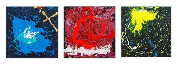 Earth Sun Moon ~ An homage to Neil Armstrong ~ Close to Art No 12 ~ Chris Billington