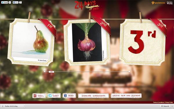 Jackson's Artists Advent Calendar
