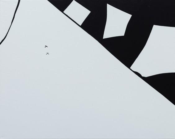 On Thin Ice ~ 100cm x 80cm ~ The ARTHouse Gallery ~ Chris Billington