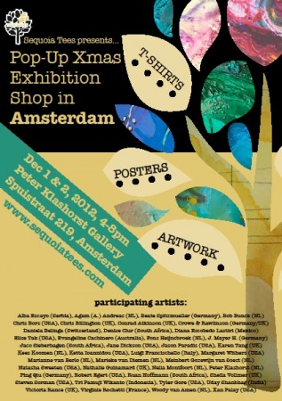 Sequoia Tees Exhibition ~ Amsterdam