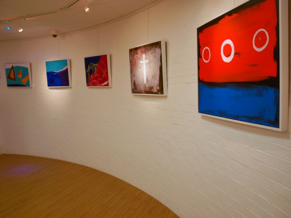 Colours Of Christmas - Chris Billington @ The Blake Gallery - Private View 4