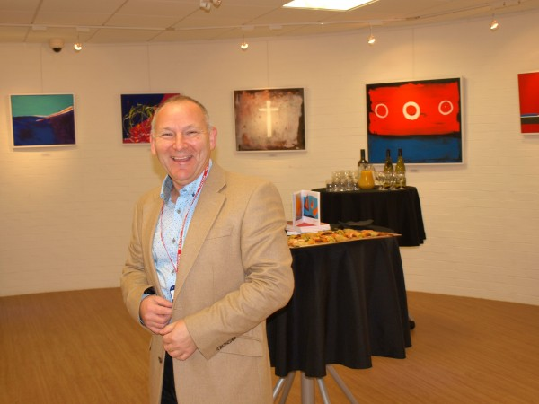 Colours Of Christmas - Chris Billington @ The Blake Gallery - Private View 12