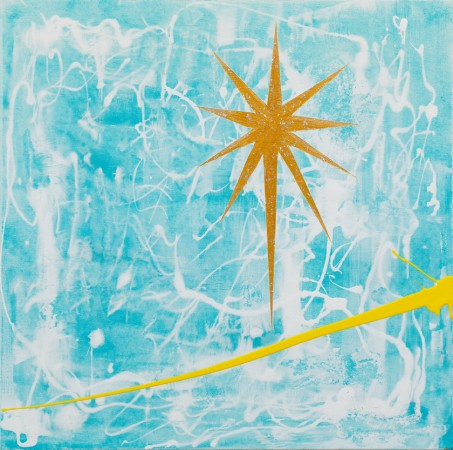 Star Of Bethlehem (2012) ~ 50cm X 50cm ~ Chris Billington