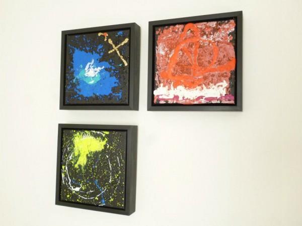 EARTH SUN MOON ~ an homage to Neil Armstrong ~ on exhibition Maubeuge, France ~ Chris Billington
