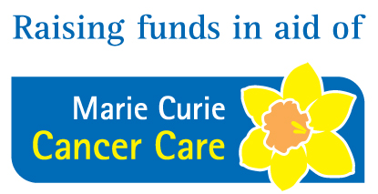 Raising funds in aid of Marie Curie ~ Chris Billington