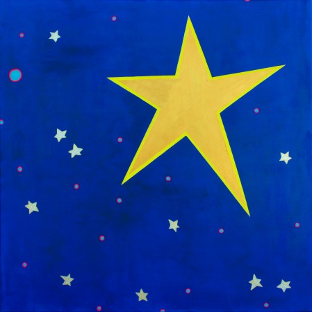 'Sterren ~ A Star For Cornwall' (2012) ~ 90cm x 90cm ~ Chris Billington