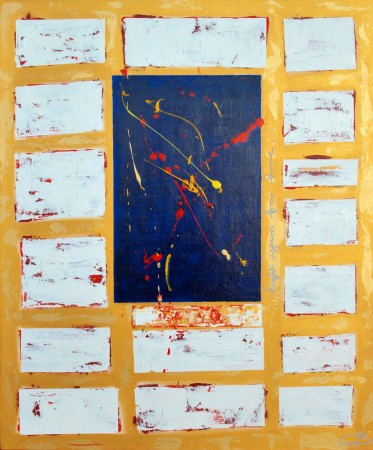 '2,000 Light Years From Home' (2013) ~ 30in X 36in ~ acrylic on canvas ~ Chris Billington