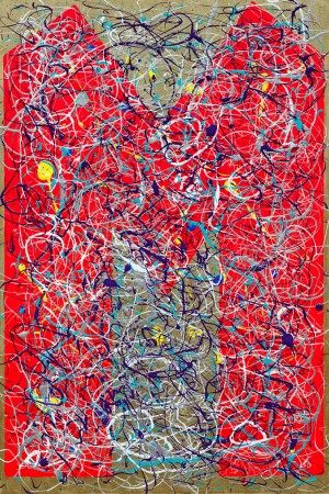 M -Theory, The Mother Of All Superstrings (2012) ~ 60cm x 90cm ~ Chris Billington
