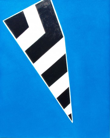 'Cousin Jack' (2010) - 40cm x 50cm acrylic on canvas  ~ Falmouth Working Boat ~Chris Billington