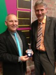 Abstract Artist Chris Billington ~ Exhibition at The Juelich Museum 2013 presented with Honorary Medal by Museum Director
