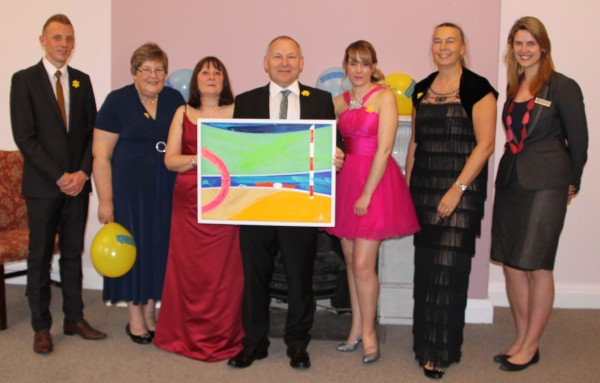 Presenting Gweek Bridge, a painting for Marie Curie  ~ Chris Billington