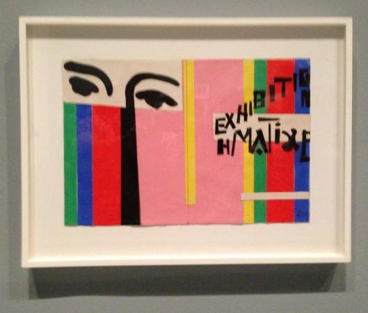Henri Matisse The Cut-Outs at Tate Modern 2014 ~ Chris Billington