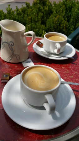 Fuelled by French coffee - in search of atelier art studio France - Chris Billington 2015.