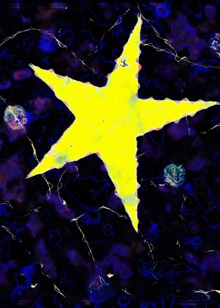 Cosmic Star Of Bethlehem (2015) - 42cm X 58cm - Chris Billington