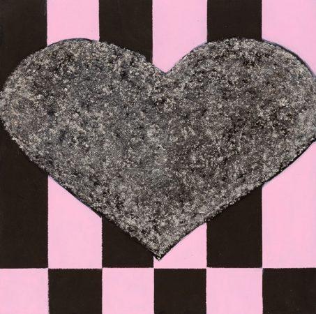 Heart Of Glass (2014) - 12in X 12in -Punk The Transatlantic Paintings - Chris-Billington - Sold Modern Art