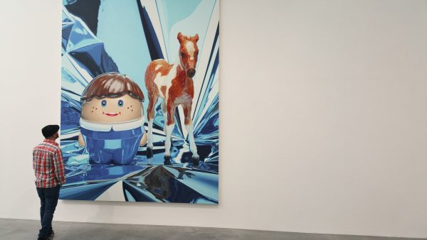 Jeff Koons Boy With Pony @ Damien Hirst Newport Street Gallery - Chris Billington 2016