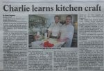 Charlie Lyne in the Helston Packet - Chris Billington