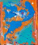 Brandenburg Concerto No.1, 2012 acrylic on canvas, 50 x 60cm - Modern Art by British Artist Chris Billington