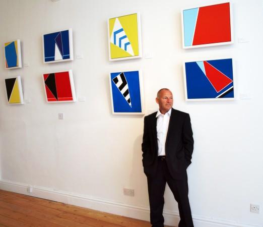 Cornwall contemporary artist Chris Billington ~ Falmouth 2010