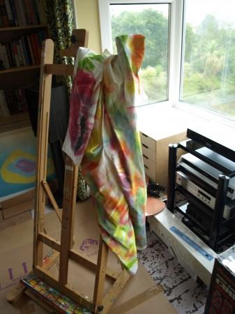 chris billington - cornwall abstract painter - the new studio 2