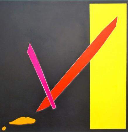 Viva Valencia (2010) - acrylic on canvas - Chris Billington