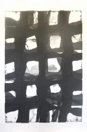 monoprint 17 - Ian McKeever RA