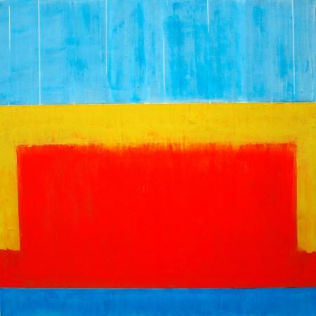 388.63 (2010) - 90cm x 90cm acrylic on canvas