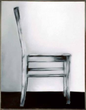 Gerhard Richter - Stuhl im Profil - 1965