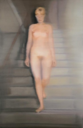 Gerhard Richter - Ema (Nude on a Staircase) - 1966