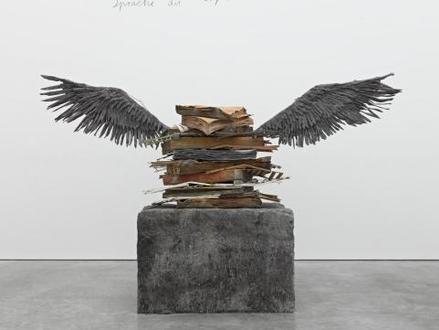 Anselm Kiefer - Sprache der Vogel - 1989