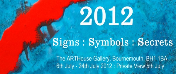 Chris Billington - 2012 : Signs : Secrets : Symbols