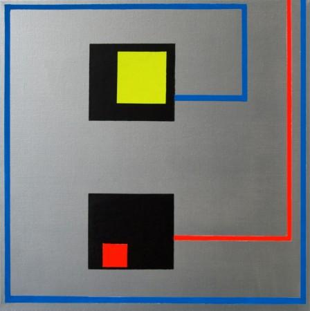 Vorsprung durch Technik (2011) - 40cm x 40cm - Chris Billington