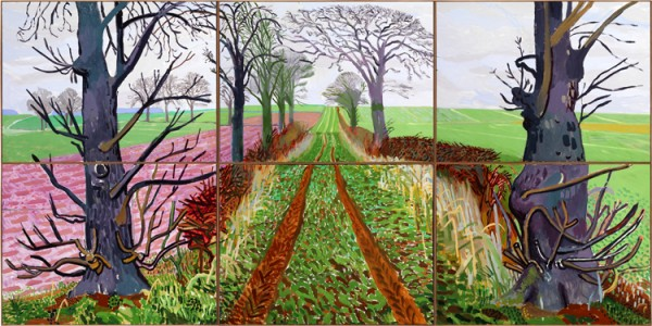 David Hockney RA - A Closer Winter Tunnel February - March 2006