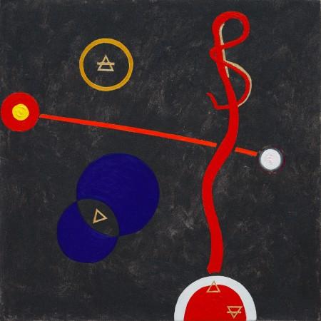 Harmony of the Spheres ~ 50cm x 50cm ~ acrylic on canvas ~ Chris Billington