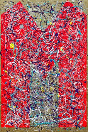 M Theory, The Mother Of All Superstrings ~ 60cm x 90cm ~ Chris Billington