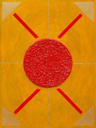 Regent of the Sun ~ 60cm x 80cm ~ mixed media on canvas ~ Chris Billington